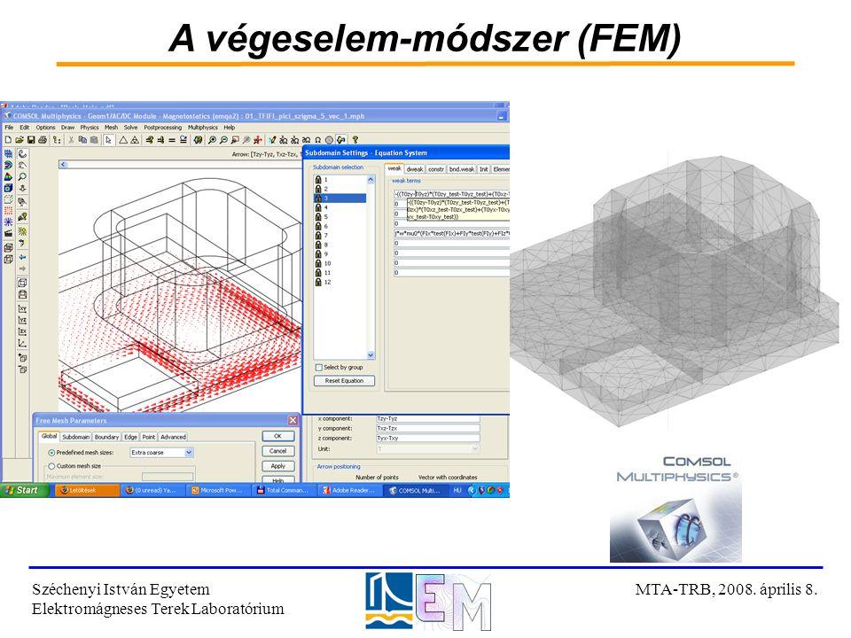 A végeselem-módszer (FEM)