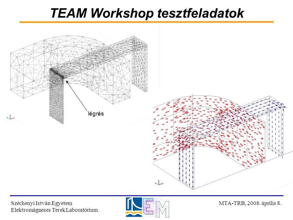 TEAM Workshop tesztfeladatok
