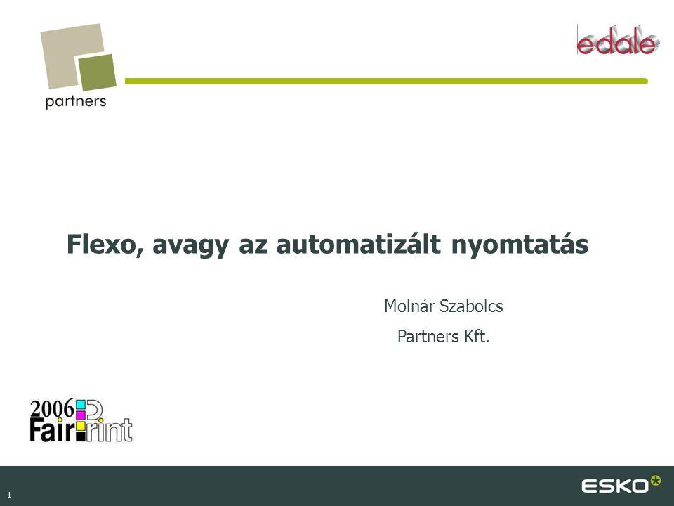 Flexo, avagy az automatizált nyomtatás