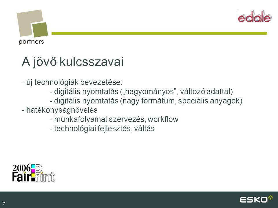 A jövő kulcsszavai - új technológiák bevezetése:
