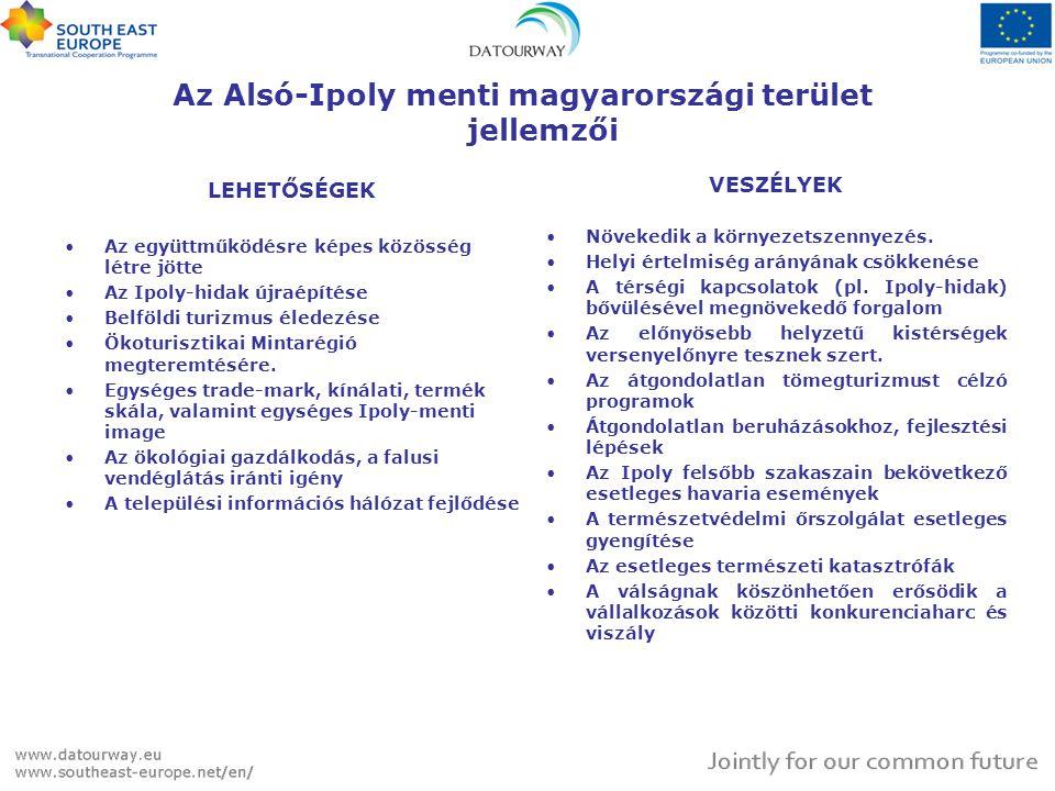 Az Alsó-Ipoly menti magyarországi terület jellemzői