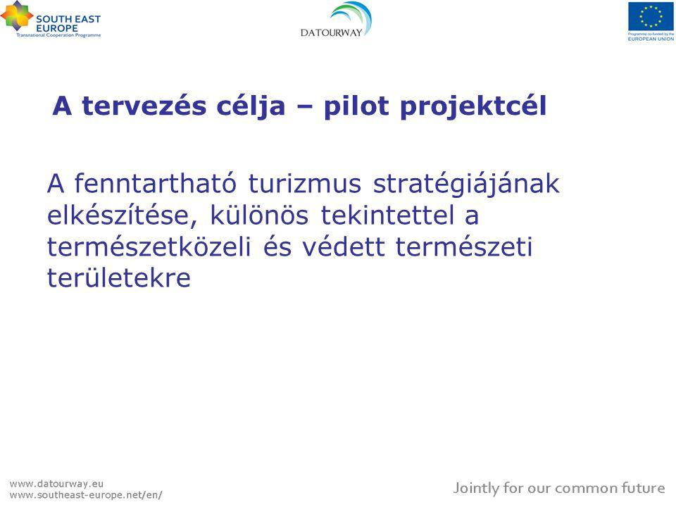 A tervezés célja – pilot projektcél