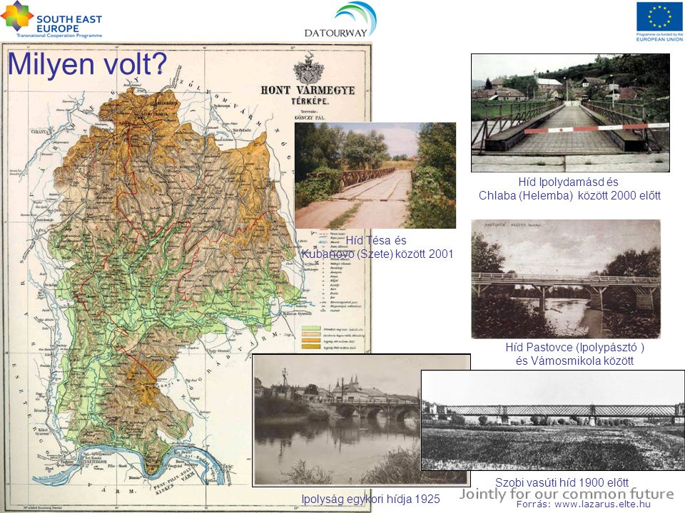 Milyen volt Híd Ipolydamásd és Chlaba (Helemba) között 2000 előtt