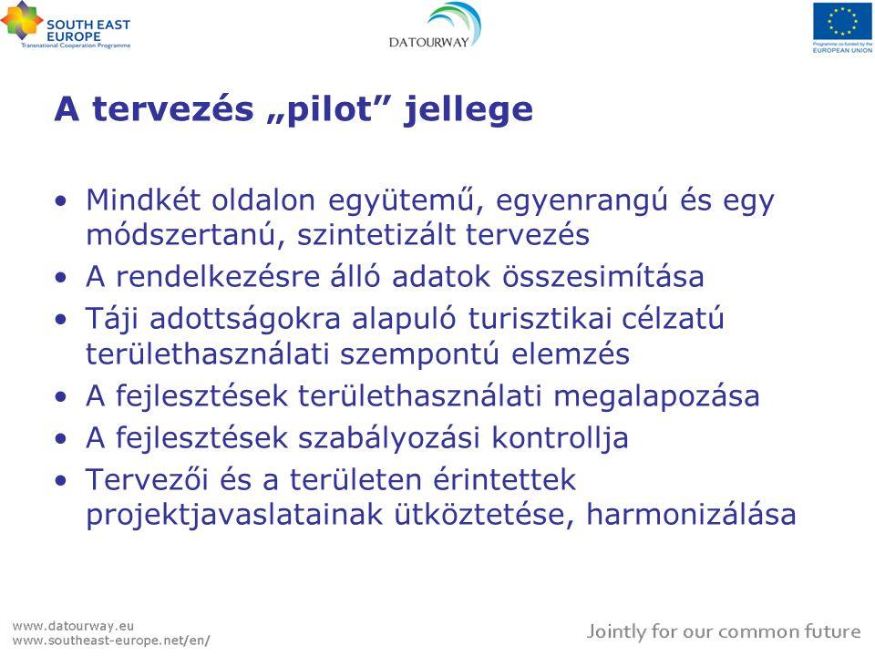 """A tervezés """"pilot jellege"""