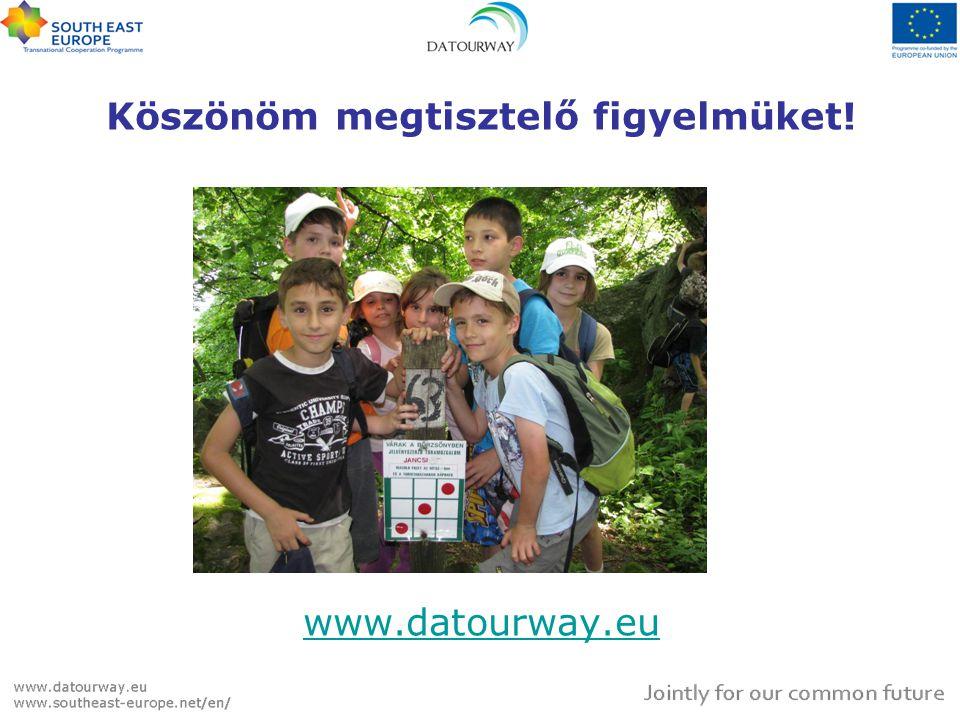 Köszönöm megtisztelő figyelmüket! www.datourway.eu