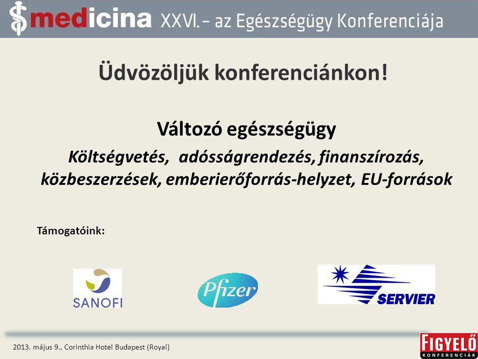 Üdvözöljük konferenciánkon!