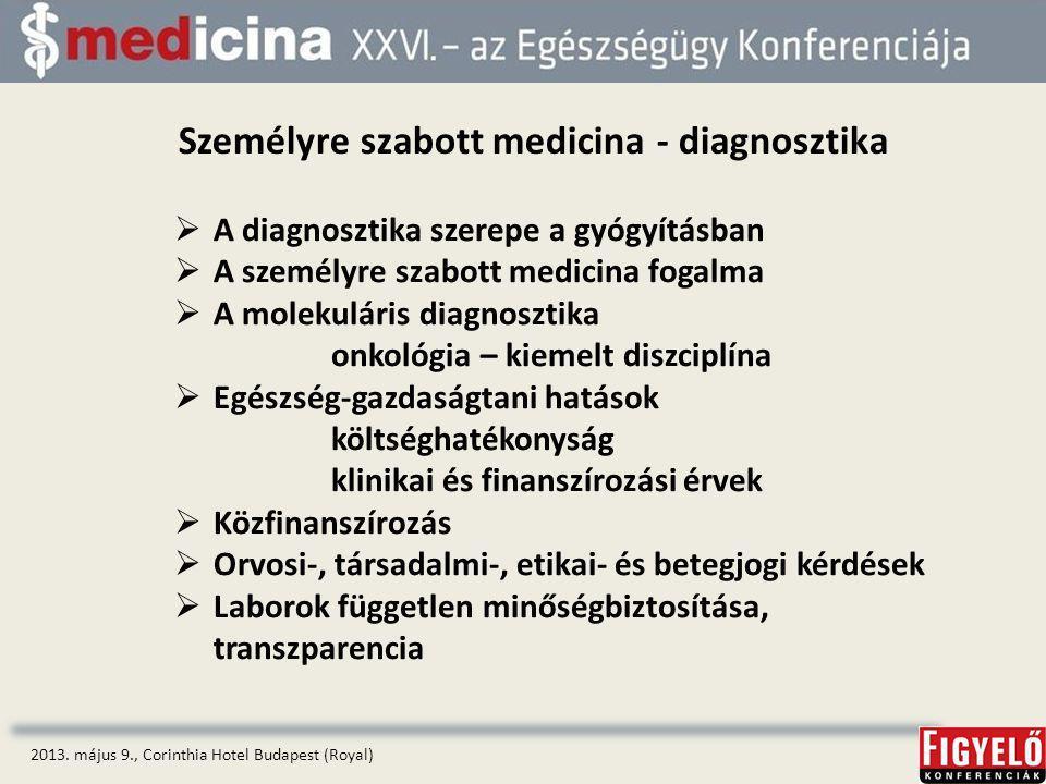 Személyre szabott medicina - diagnosztika