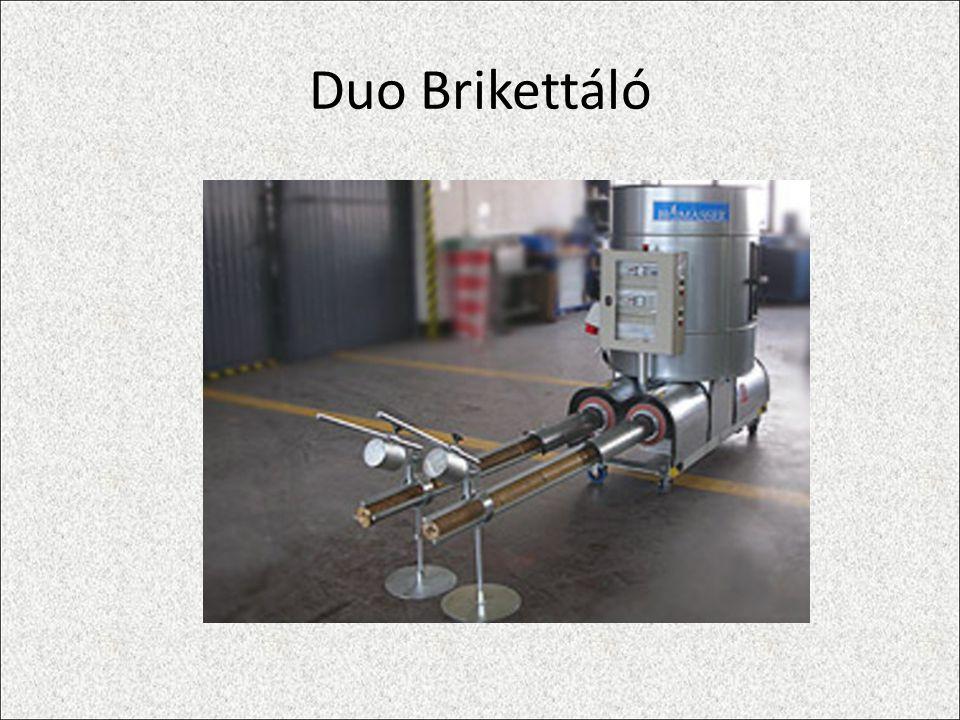 Duo Brikettáló
