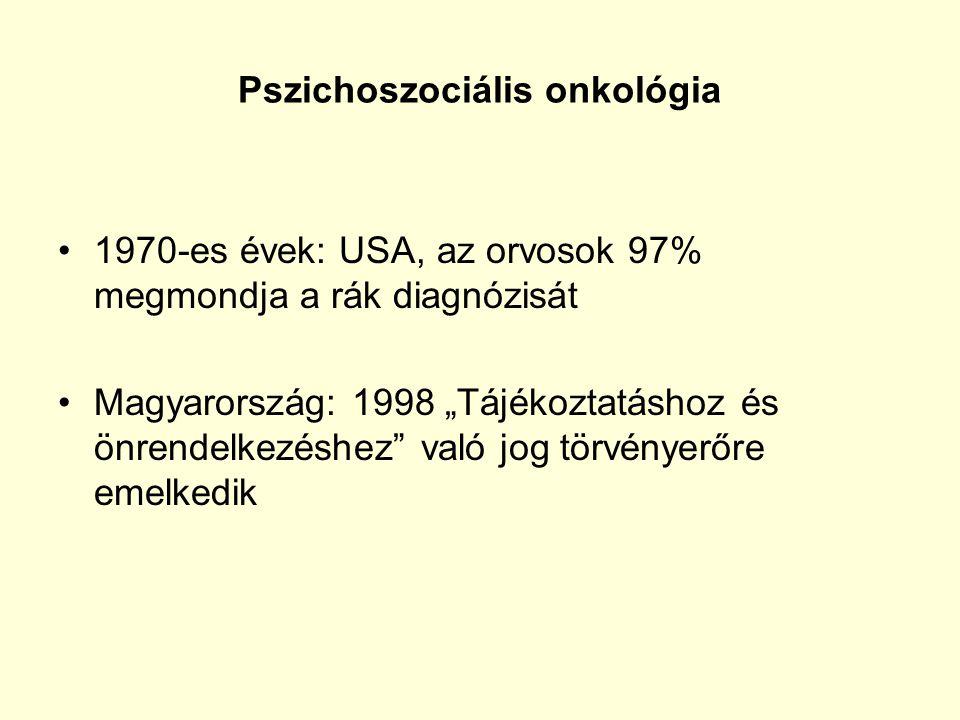 Pszichoszociális onkológia