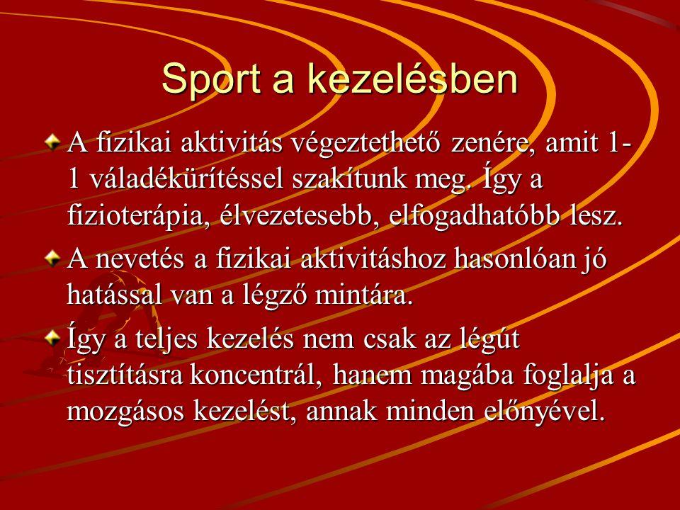Sport a kezelésben