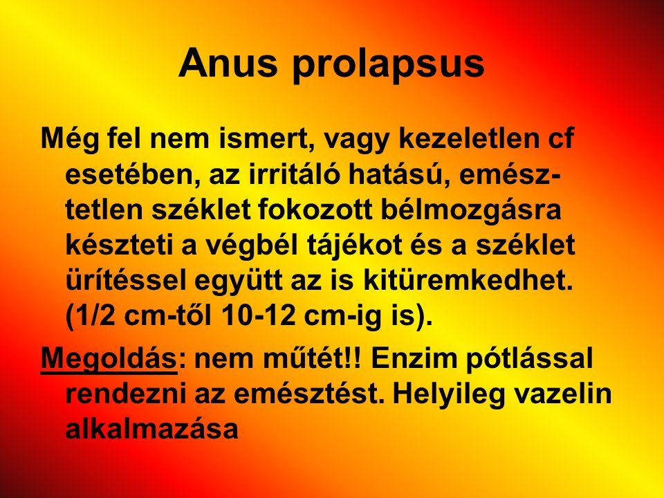 Anus prolapsus