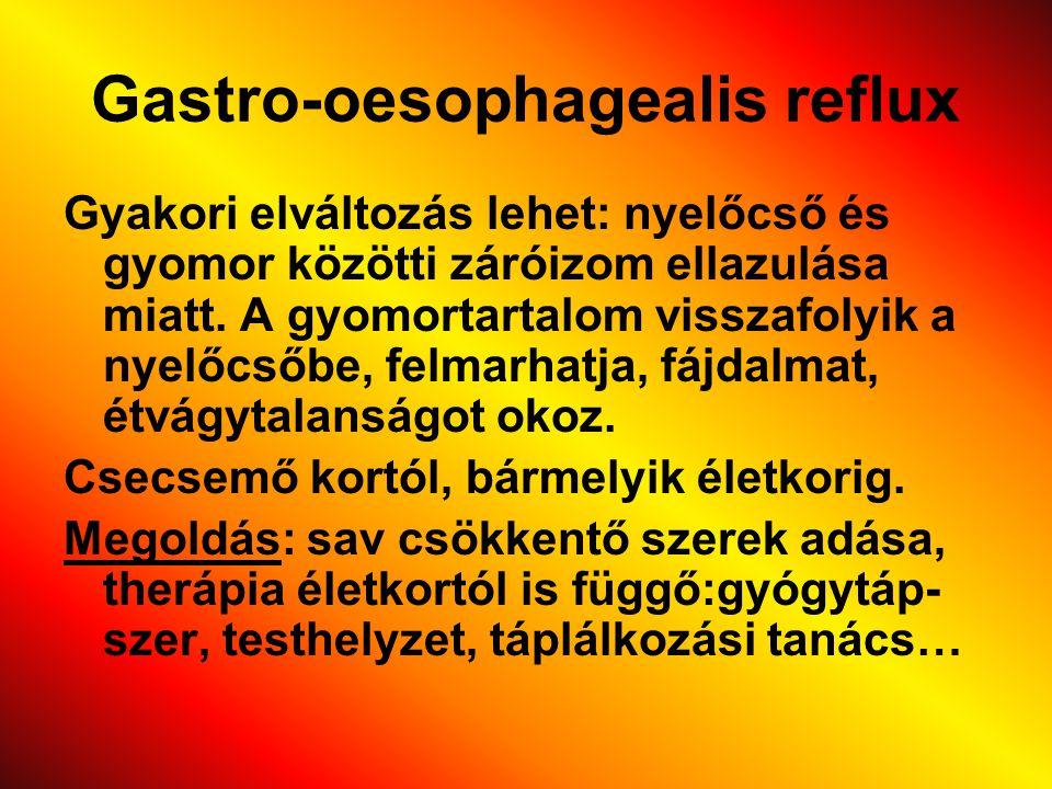 Gastro-oesophagealis reflux
