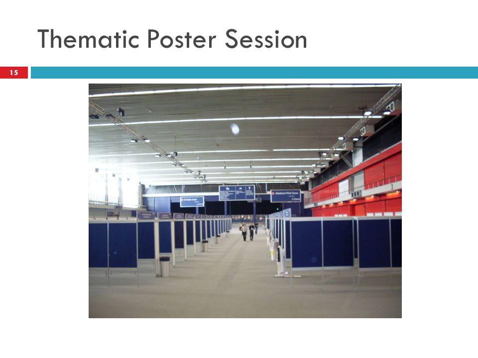 Thematic Poster Session