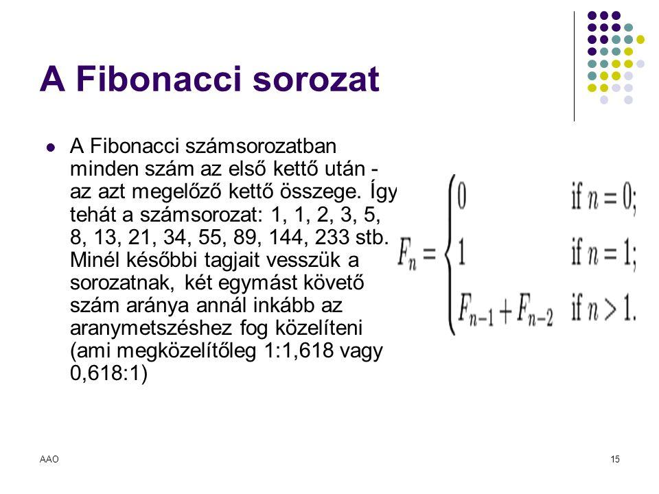 A Fibonacci sorozat