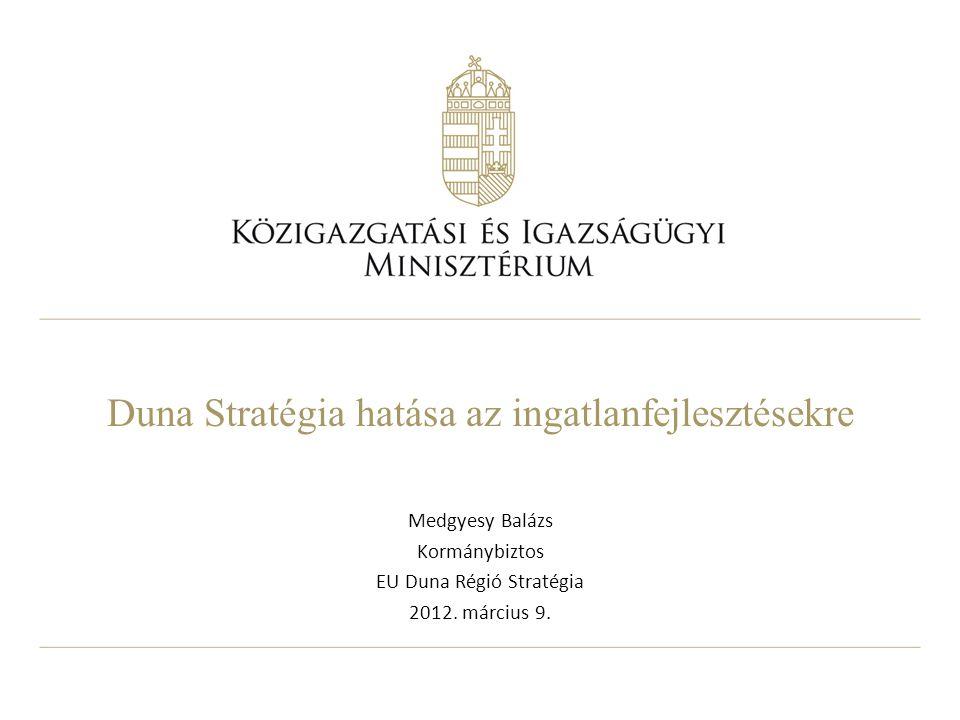 Duna Stratégia hatása az ingatlanfejlesztésekre