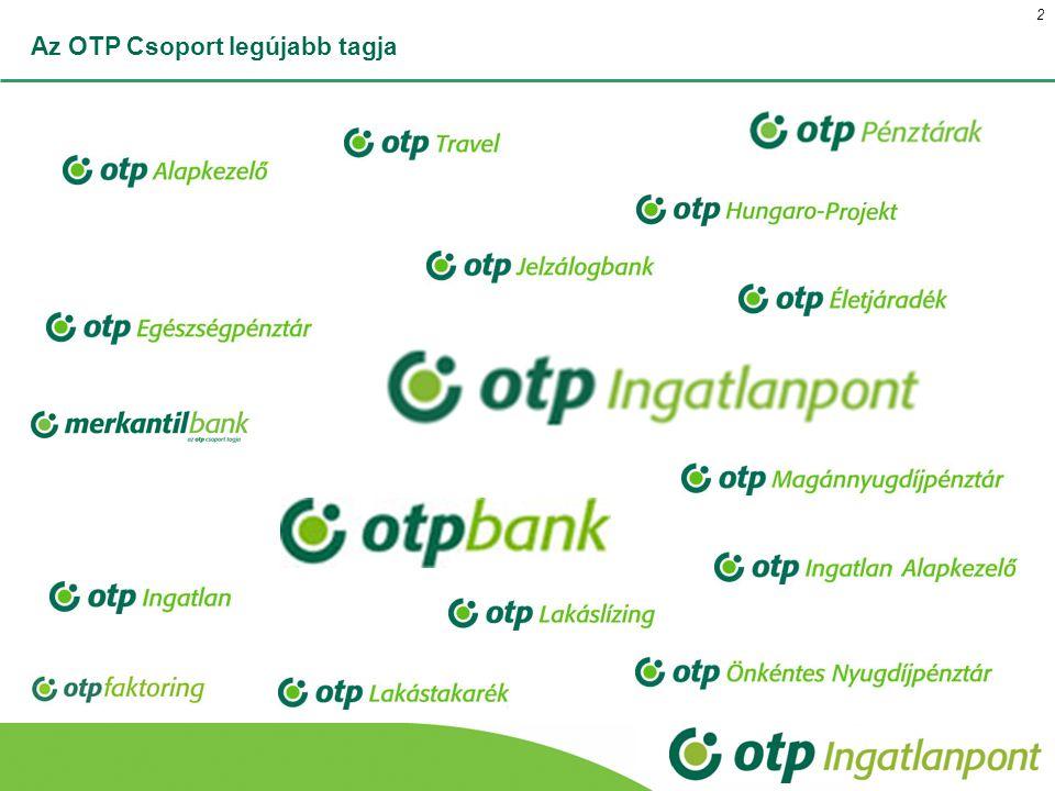 Az OTP Csoport legújabb tagja