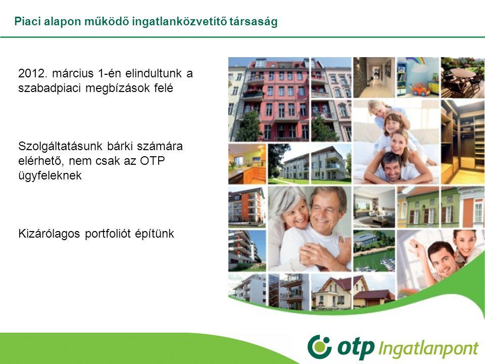 Piaci alapon működő ingatlanközvetítő társaság