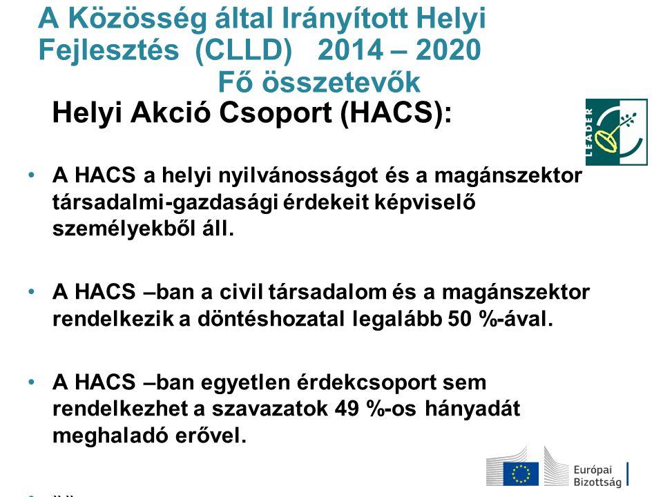 Helyi Akció Csoport (HACS):