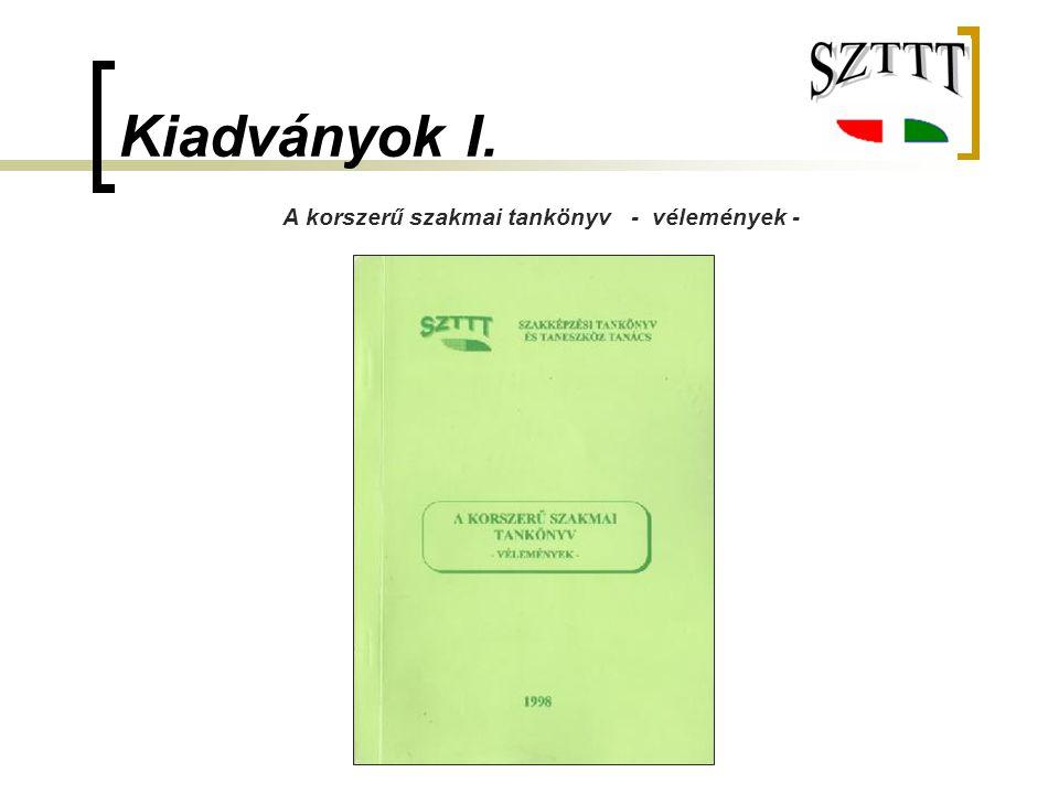 A korszerű szakmai tankönyv - vélemények -
