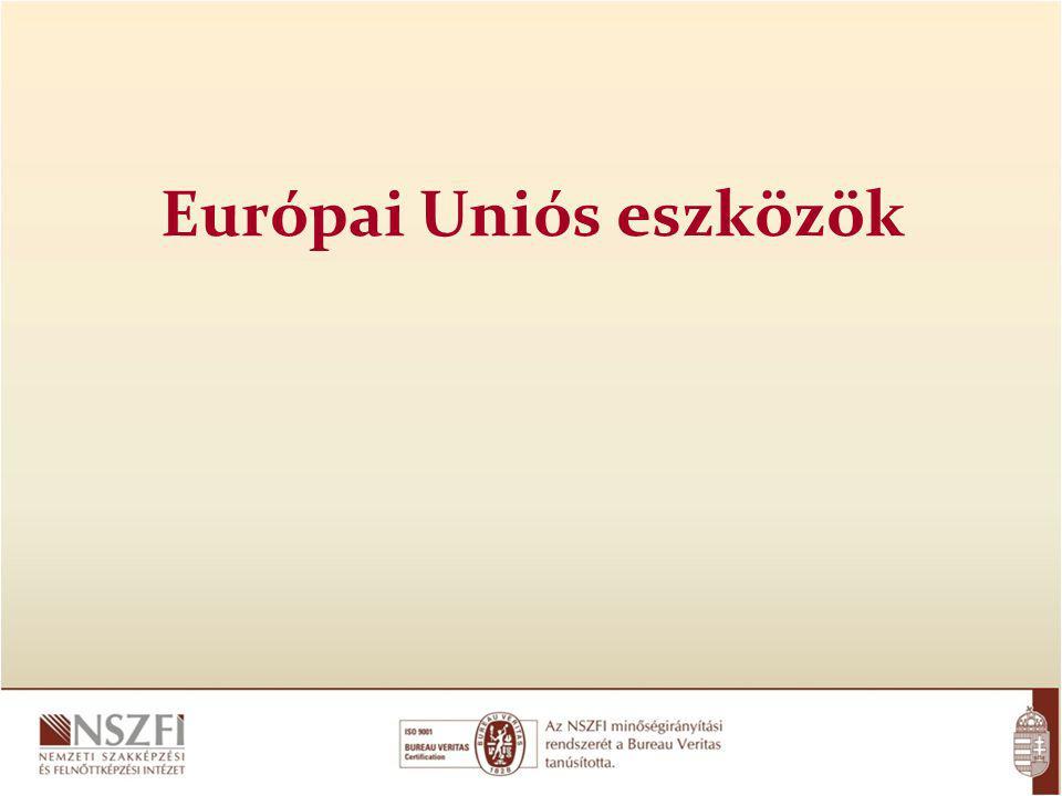 Európai Uniós eszközök