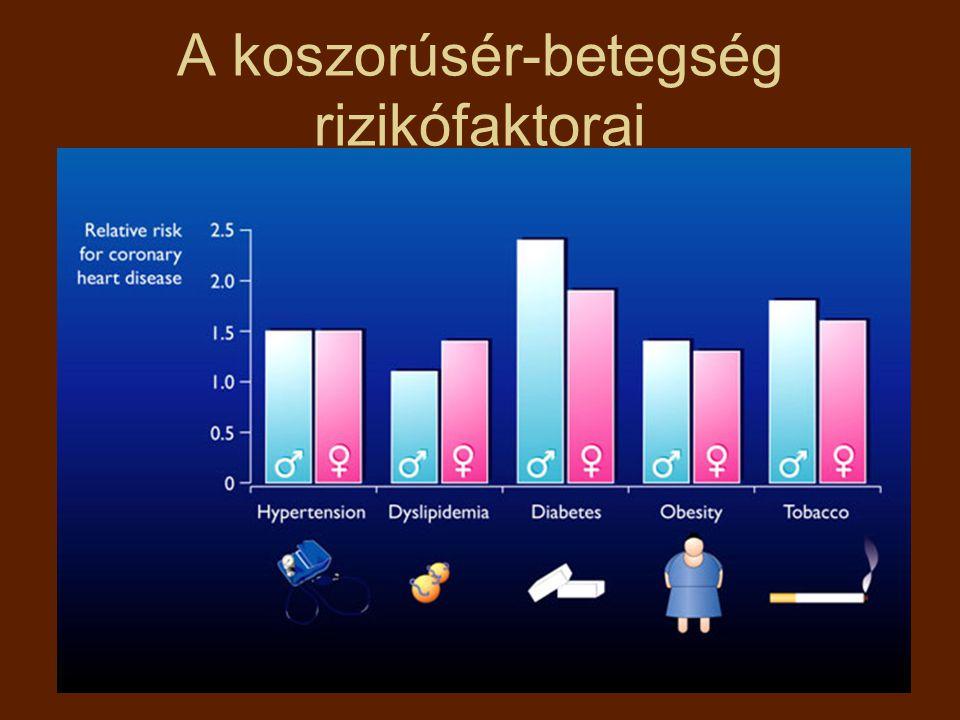 A koszorúsér-betegség rizikófaktorai