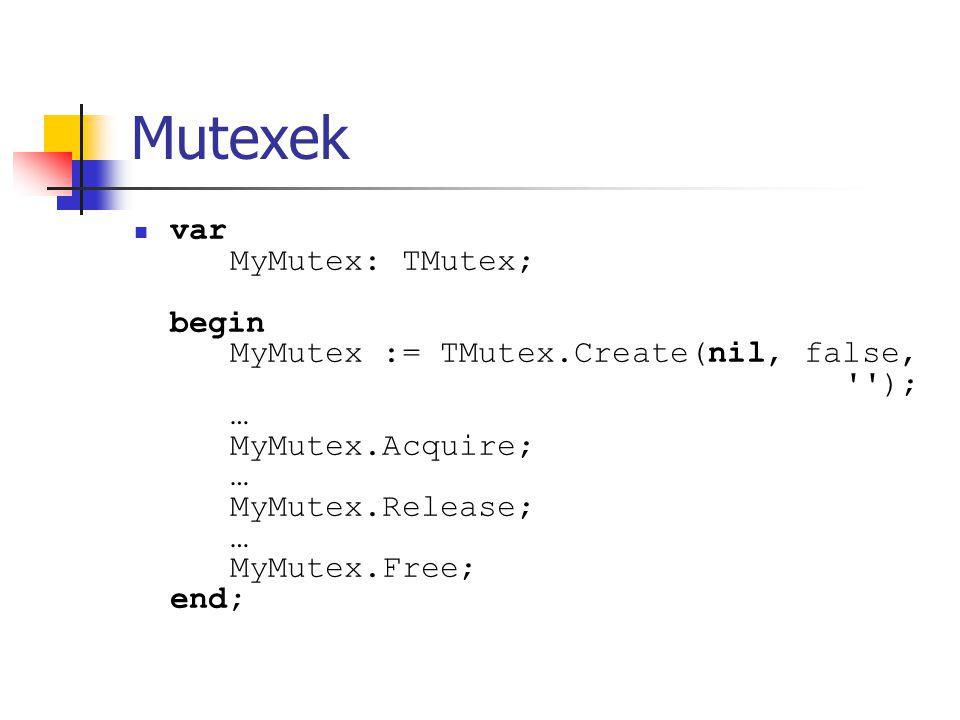 Mutexek