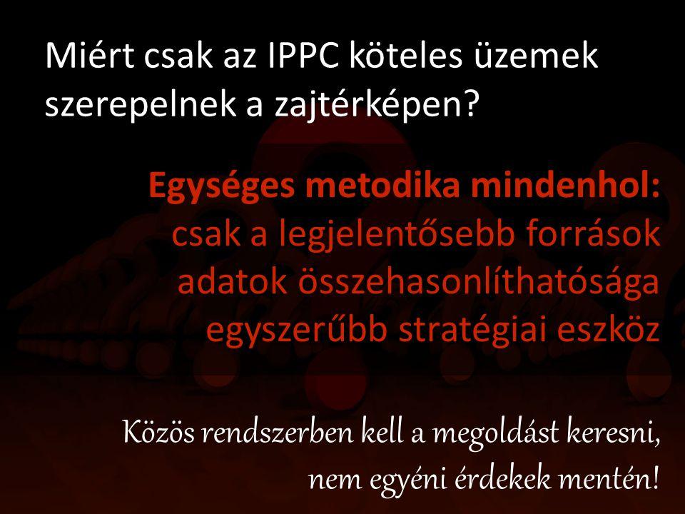Miért csak az IPPC köteles üzemek szerepelnek a zajtérképen
