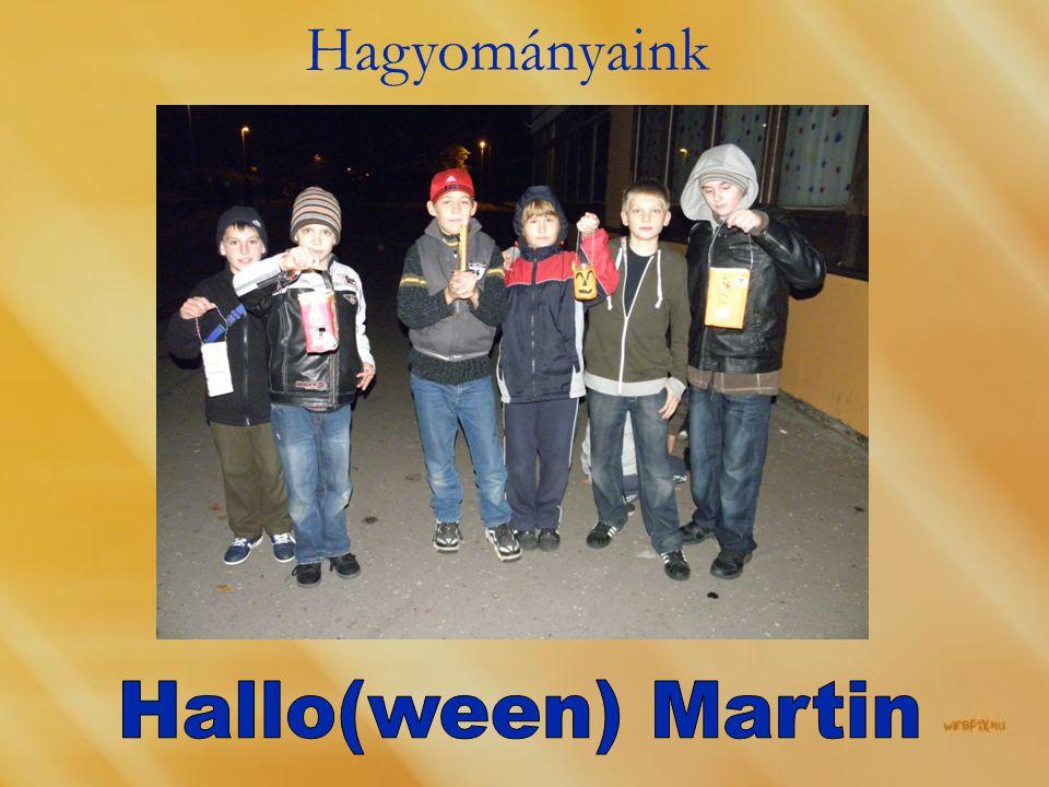 Hagyományaink Hallo(ween) Martin