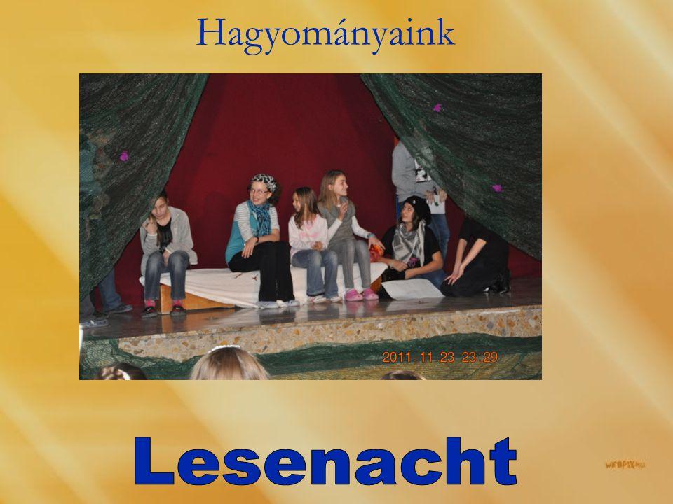 Hagyományaink Lesenacht