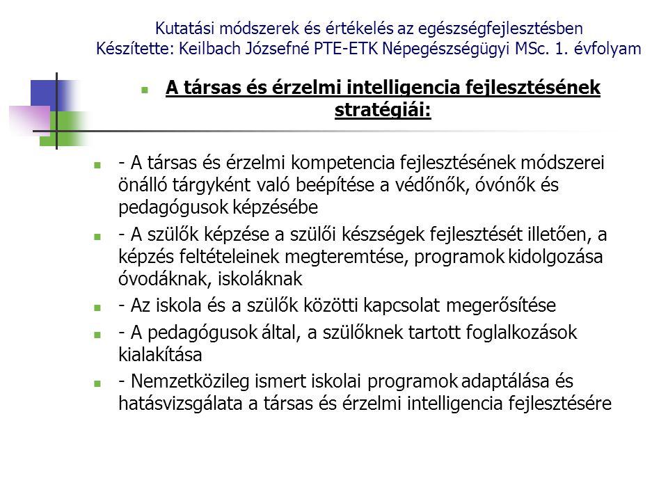 A társas és érzelmi intelligencia fejlesztésének stratégiái: