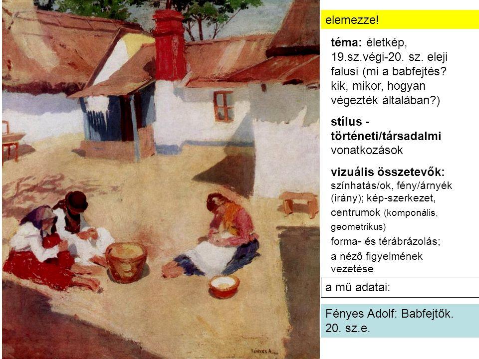 stílus -történeti/társadalmi vonatkozások
