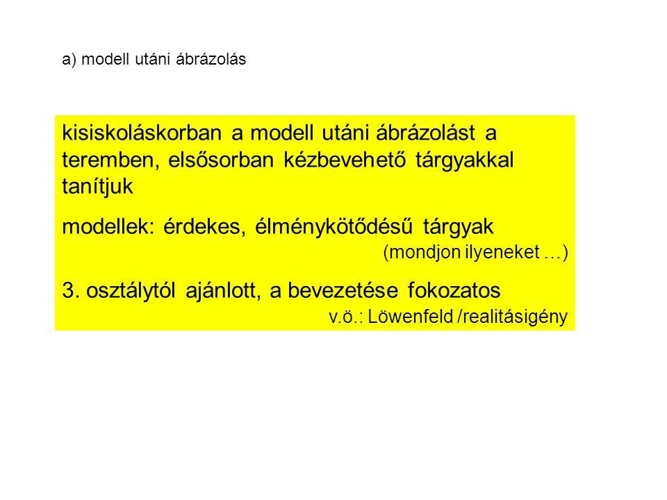modellek: érdekes, élménykötődésű tárgyak