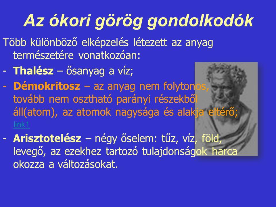 Az ókori görög gondolkodók