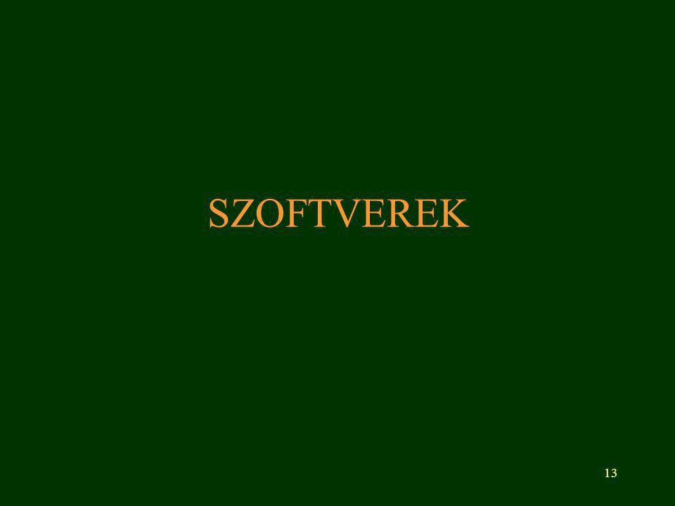 SZOFTVEREK