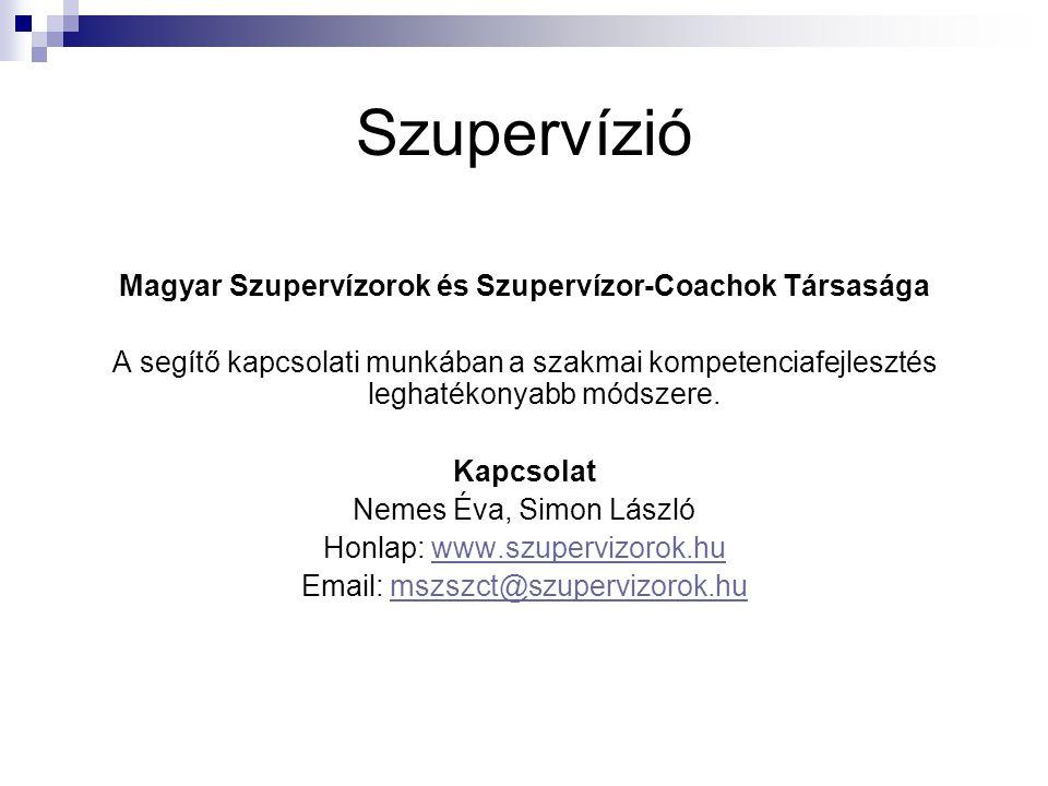 Magyar Szupervízorok és Szupervízor-Coachok Társasága