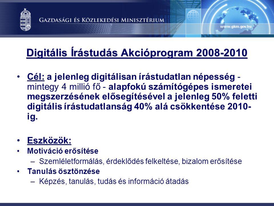 Digitális Írástudás Akcióprogram 2008-2010