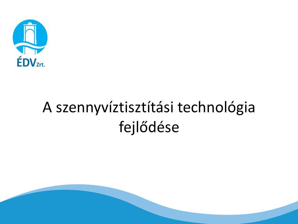 A szennyvíztisztítási technológia fejlődése