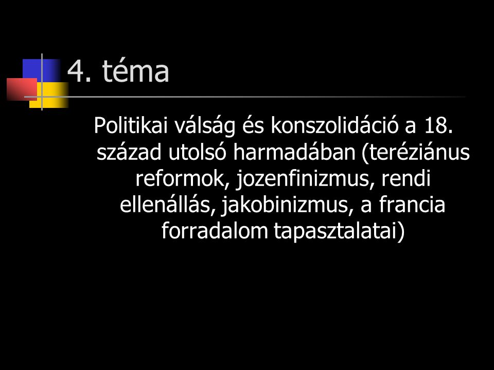 4. téma