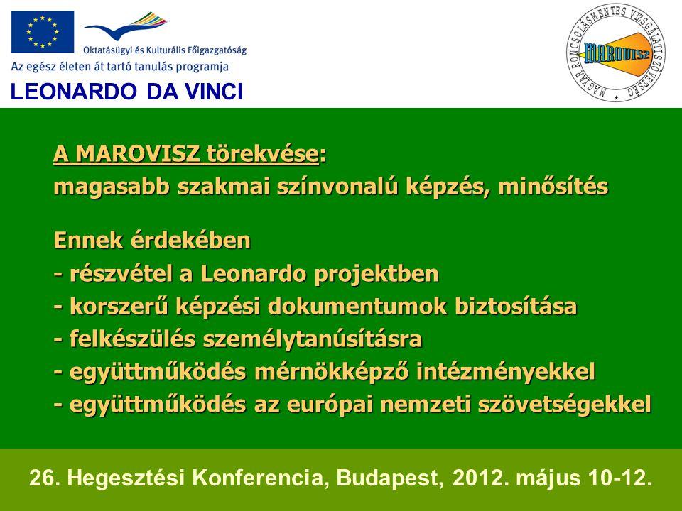 26. Hegesztési Konferencia, Budapest, 2012. május 10-12.