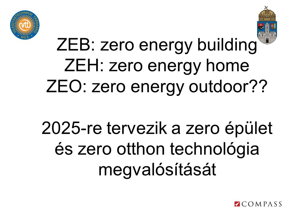 ZEB: zero energy building ZEH: zero energy home