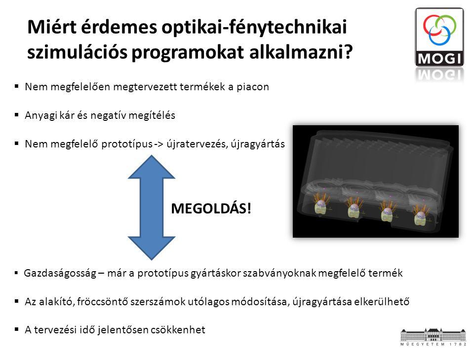 Miért érdemes optikai-fénytechnikai szimulációs programokat alkalmazni