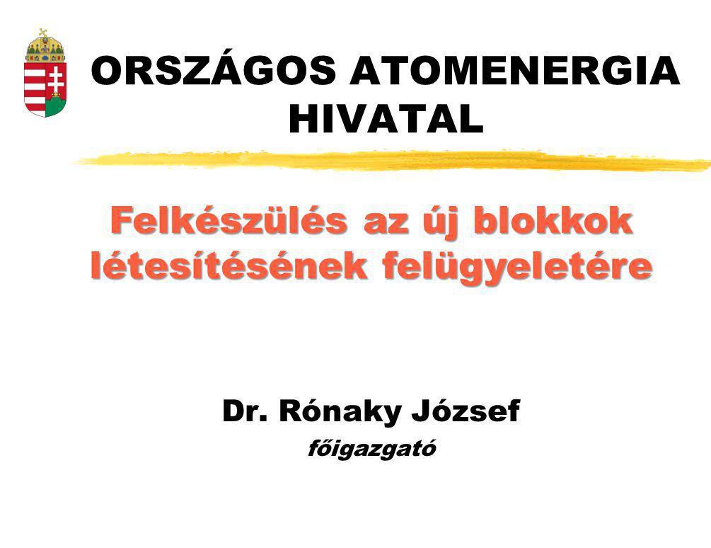 ORSZÁGOS ATOMENERGIA HIVATAL