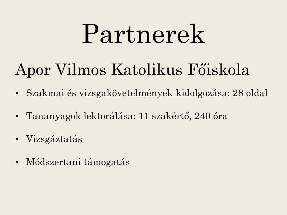 Partnerek Apor Vilmos Katolikus Főiskola