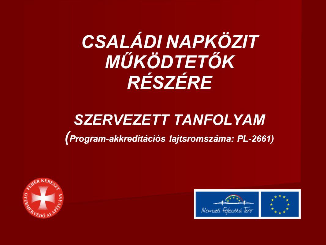 (Program-akkreditációs lajtsromszáma: PL-2661)