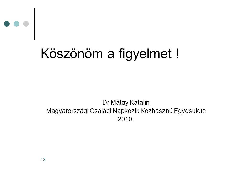 Magyarországi Családi Napközik Közhasznú Egyesülete