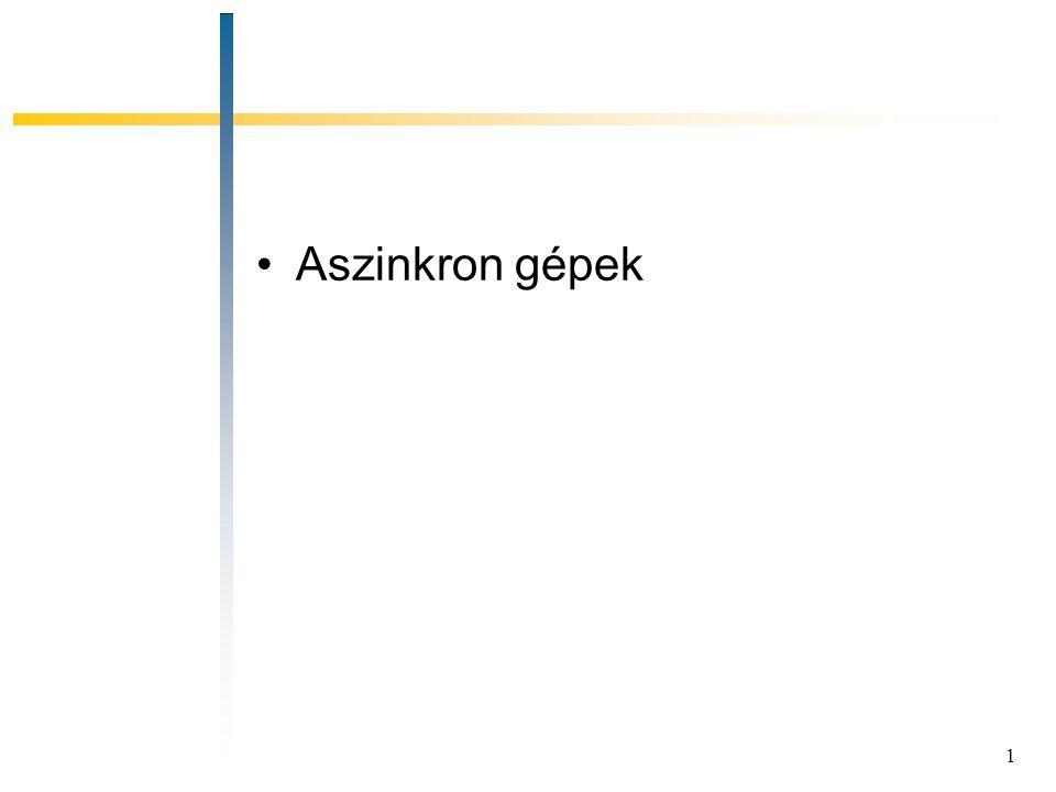 Aszinkron gépek