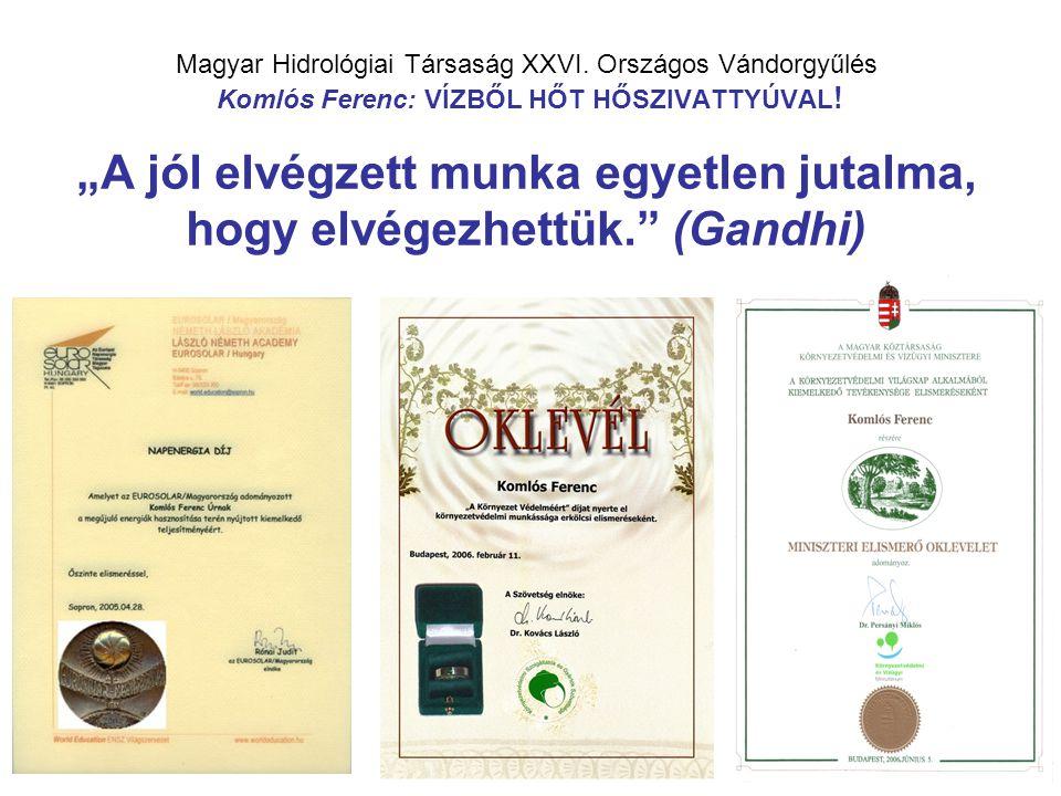 Magyar Hidrológiai Társaság XXVI