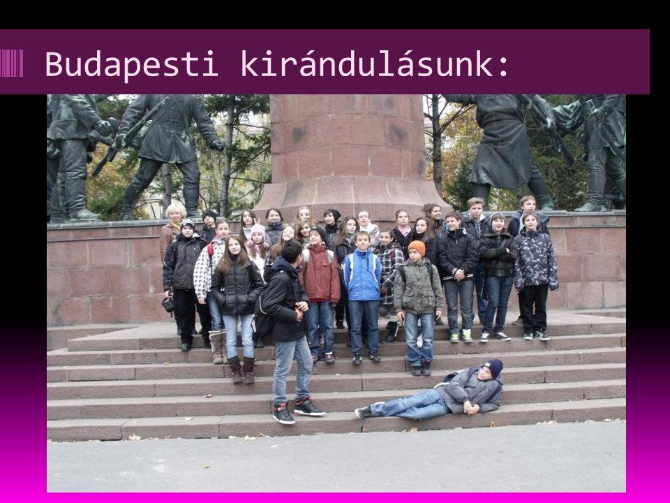 Budapesti kirándulásunk: