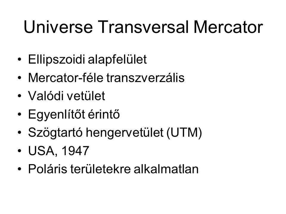 Universe Transversal Mercator