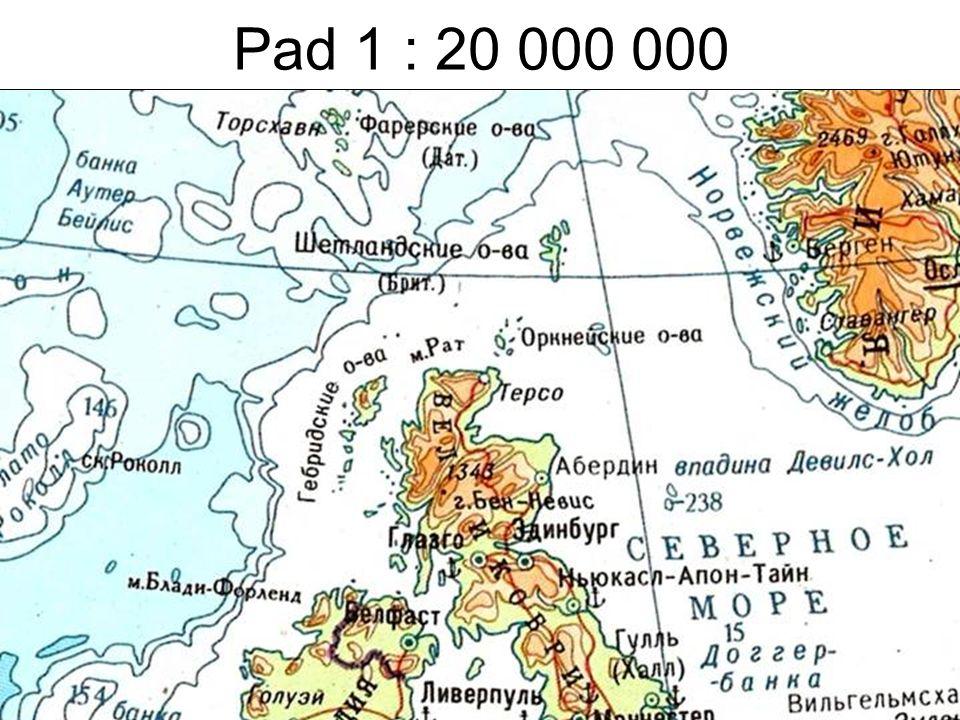 Pad 1 : 20 000 000